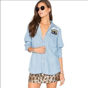 Rails Chambray Cleopatra Button Down Shirt